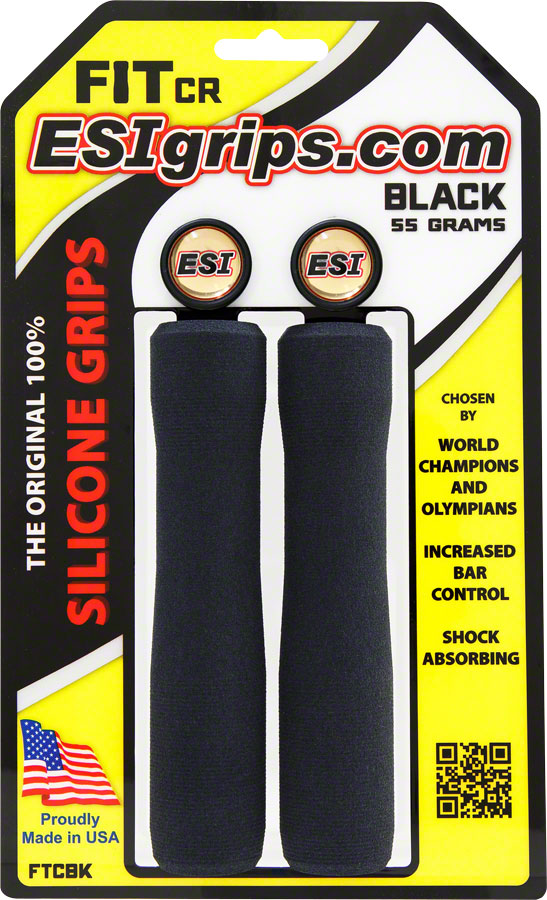 ESI FIT CR Grips - Black