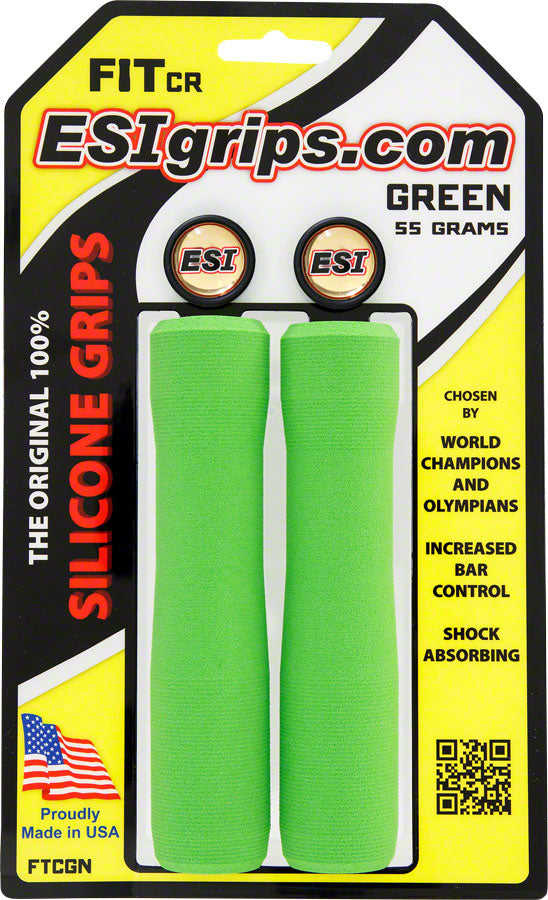 ESI FIT CR Grips - Green MPN: FTCGN UPC: 181517000131 Grip FIT CR
