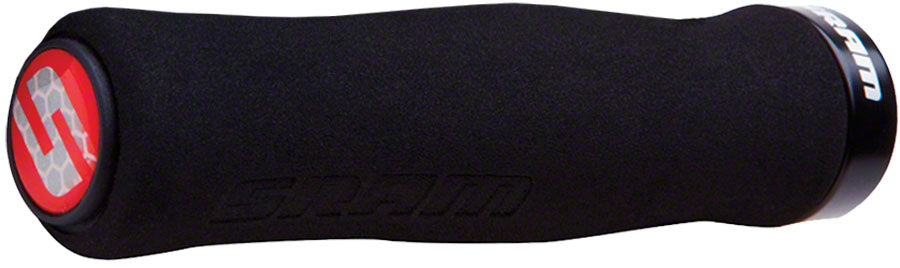 SRAM Foam Contour Grips - Black, Lock-On MPN: 00.7915.068.060 UPC: 710845666971 Grip Foam