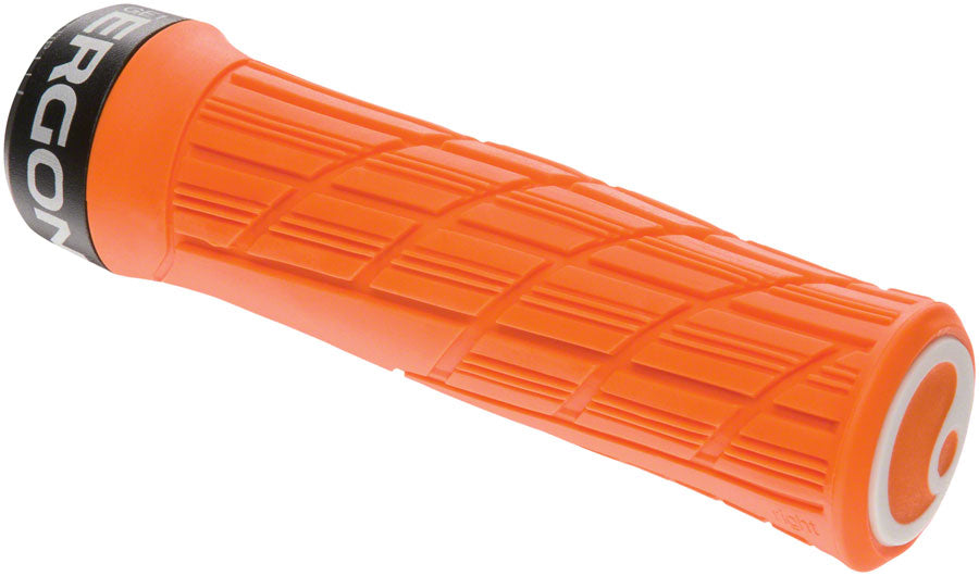 Ergon GE1 Evo Grips - Juicy Orange, Lock-On