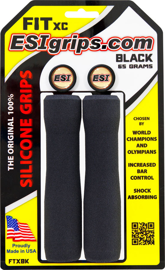 ESI FIT XC Grips - Black MPN: FTXBK UPC: 181517000063 Grip FIT XC