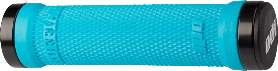ODI Ruffian Grips - Aqua, Lock-On MPN: D30RFAQ-B UPC: 711484158872 Grip Ruffian Lock-On
