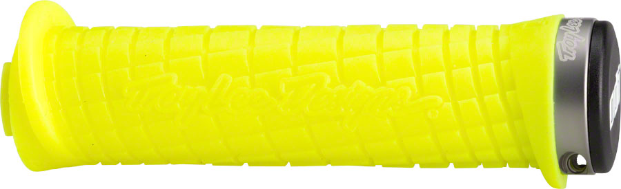 ODI Troy Lee Grips - Yellow/Gray, Lock-On MPN: D30TLY-G UPC: 711484170683 Grip Troy Lee