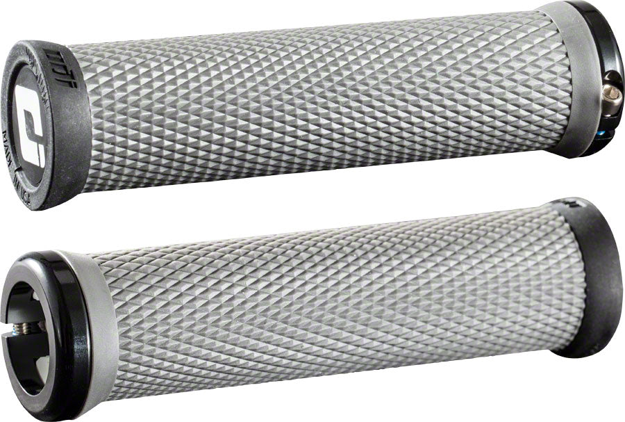 ODI Elite Motion Grips - Graphite Black, Lock-On