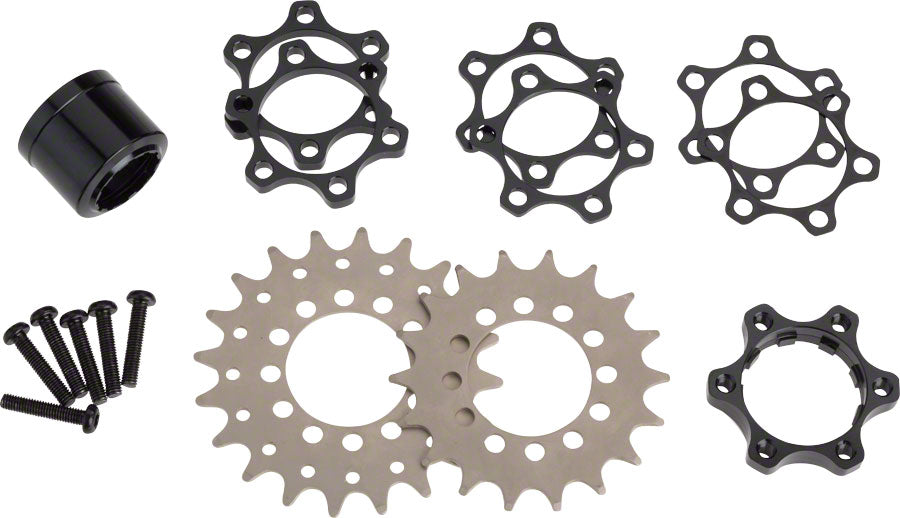 Problem Solvers Zinger SingleSpeed Conversion Kit for XD MPN: 03-000252 UPC: 708752177574 Single Speed Spacer Kit Zinger