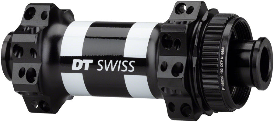 DT Swiss 350 Front Hub - 12 x 100mm, Center-Lock, Black, 28h, Straight Pull - Front Hub - 350 Front Hub