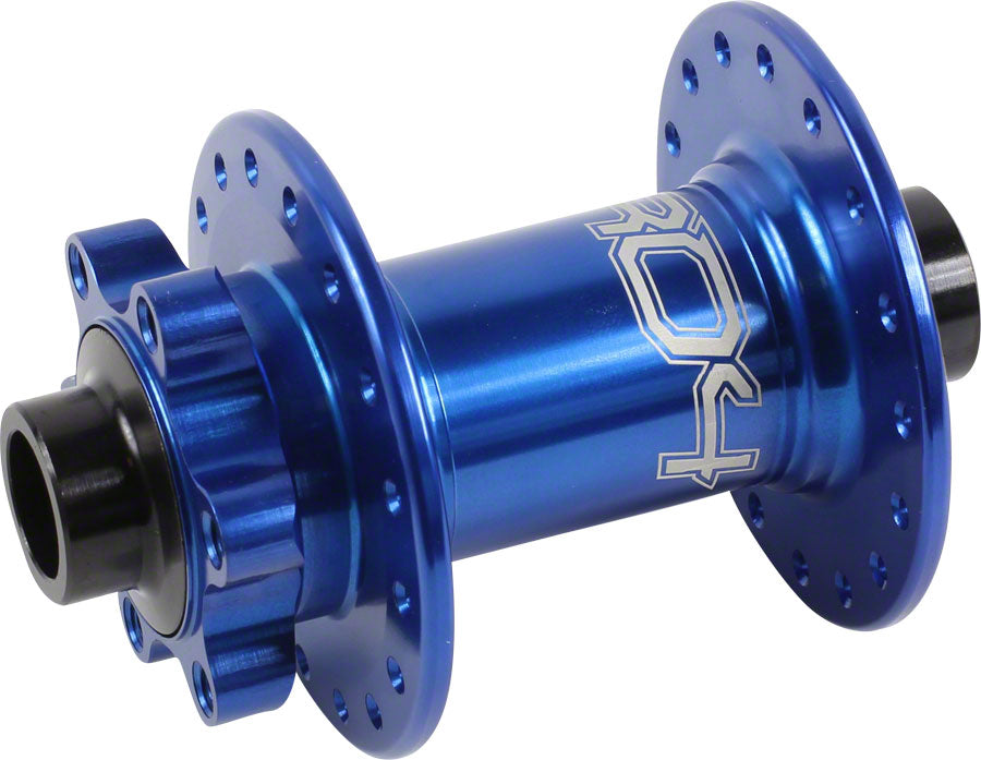 Hope Pro 4 Front Disc Hub 15mm Axle 32h Blue