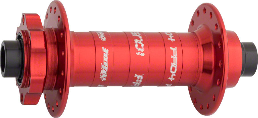 Hope Fatsno Pro 4 Front Fat Bike Hub 150mm x 15mm Front Disc Spacing 32H Red