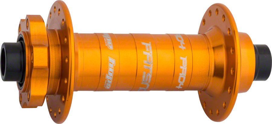 Hope Fatsno Pro 4 Front Fat Bike Hub 150mm x 15mm 32H Orange