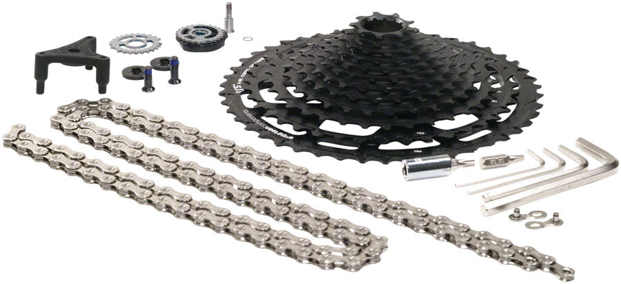 e*thirteen by The Hive TRS Plus Cassette Upgrade Kit with Cassette, Chain, Shifter and Derailleur Conversion Kit - 12 MPN: FW2TPA-100 Cassettes TRS Plus 12-Speed Upgrade Kit
