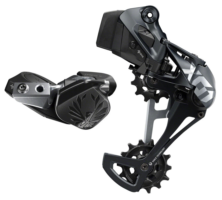 SRAM X01 Eagle AXS Upgrade Kit - Rear Derailleur for 10-52t, Battery, Eagle AXS Controller w/ Clamp, Charger/Cord, Lunar