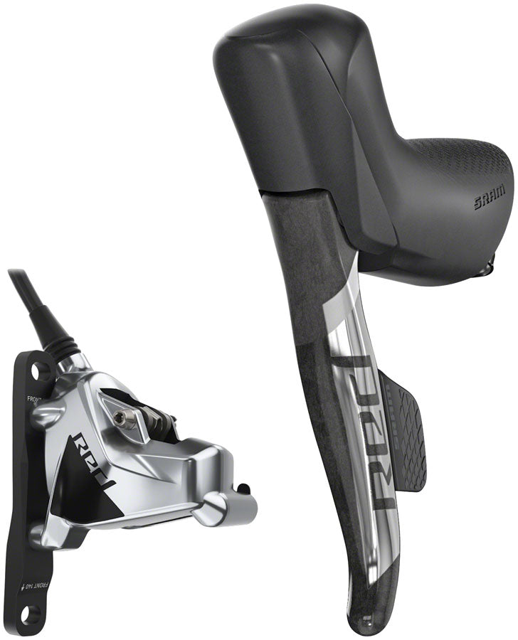 SRAM RED eTap AXS HRD Shift/Brake Lever and Hydraulic Disc Caliper - Left/Front, Flat Mount, 20mm Offset, 950mm Hose,