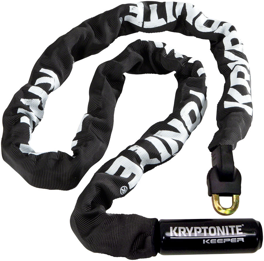 Kryptonite Keeper 712 Chain Lock with Key: 3.93' (120cm) MPN: 1706 UPC: 720018001706 Chain Lock Keeper 712 Chain Lock