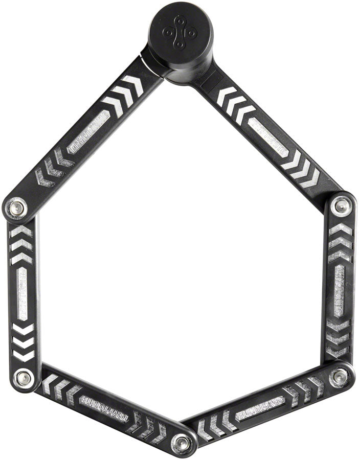 Kryptonite KryptoLok 685 Folding Lock: Black, 85cm, 5mm