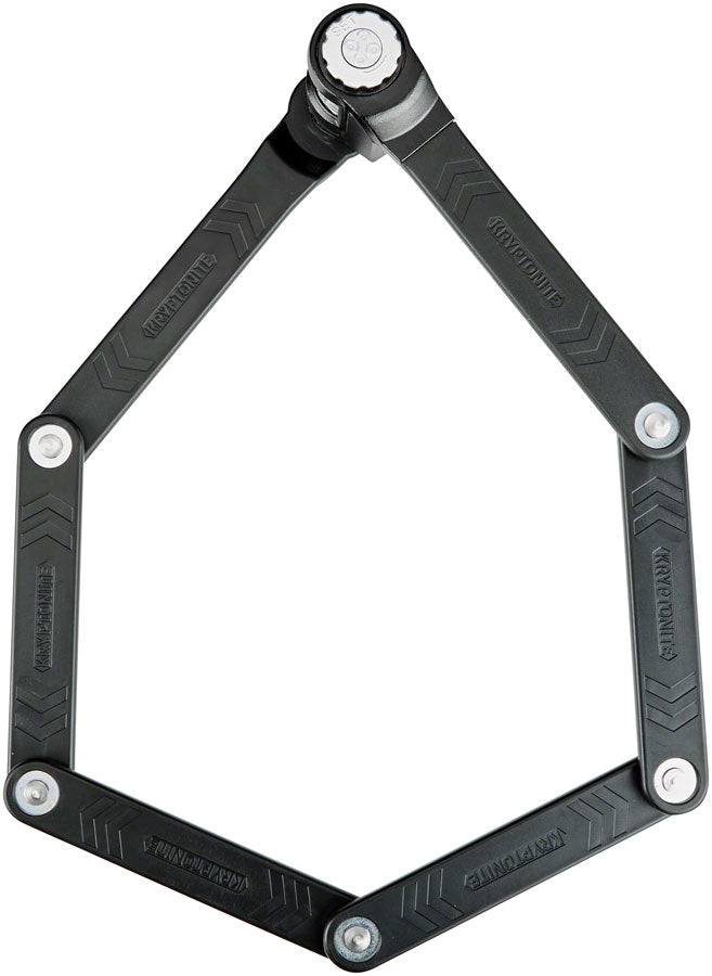 Kryptonite Keeper 585 Combo Folding Lock - 85cm, 3mm, Black #