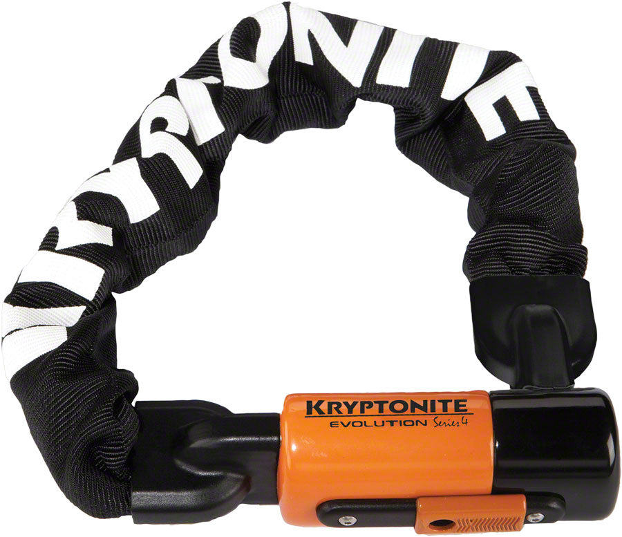 Kryptonite 1055 Evolution Mini Series 4 Chain Lock: 1.8' (55cm) heavy duty bike