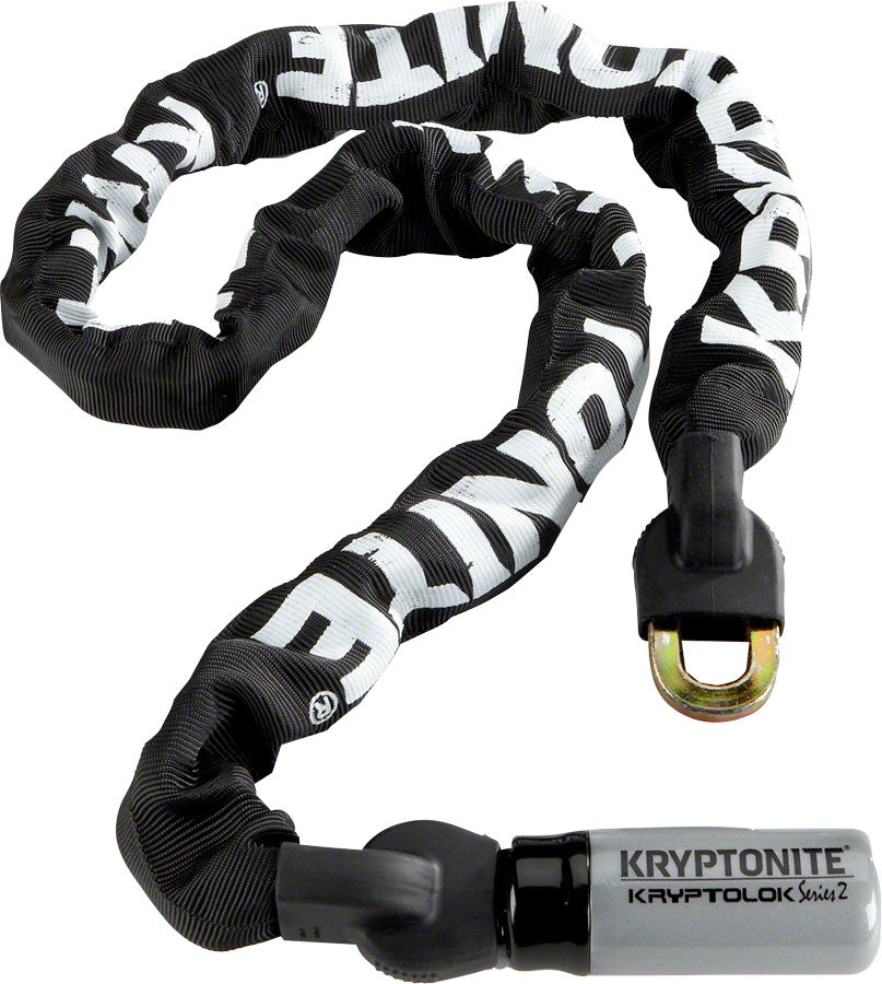 Kryptonite KryptoLok Series 2 912 Integrated Chain: 4' (120cm) MPN: 001874 UPC: 720018001874 Chain Lock KryptoLok Series 2