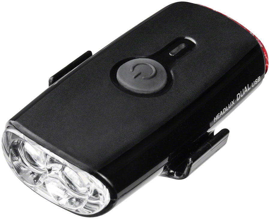 Topeak HeadLux Dual Headlight/Taillight, USB, Black MPN: TMS090B UPC: 883466017726 Headlight HeadLux Helmet Head/Tail Light