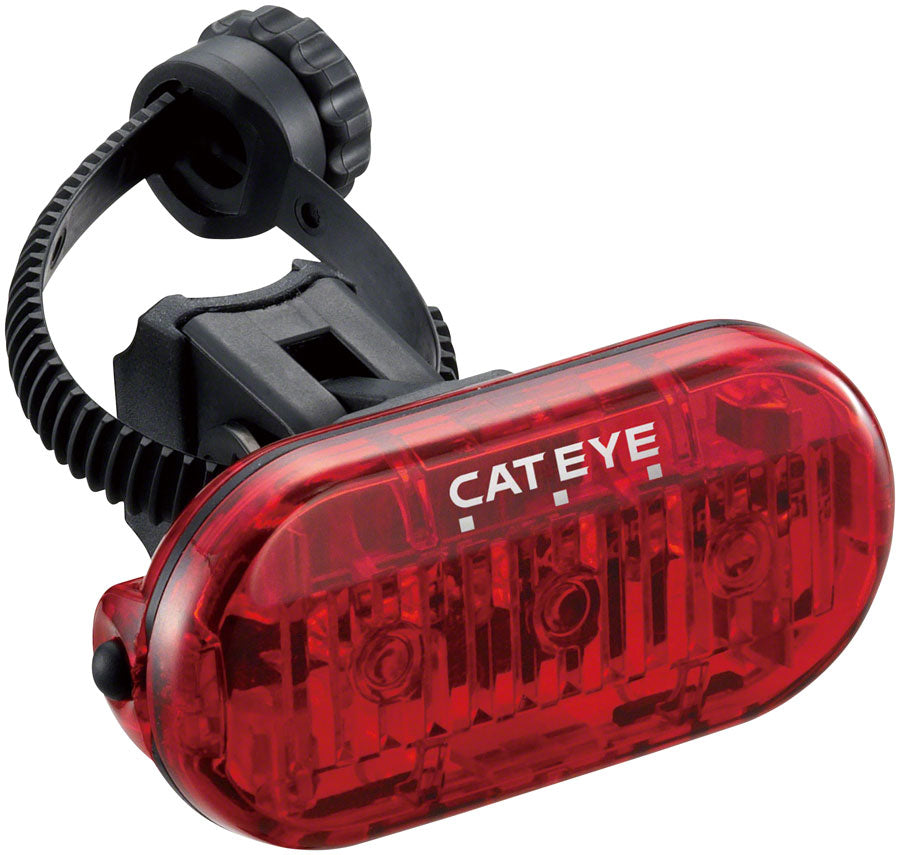 Velo Wireless HL-EL135 and Omni 3 LED CAT EYE Includes Mounting Hardware Bike Headlight Tail Light and Computer Set