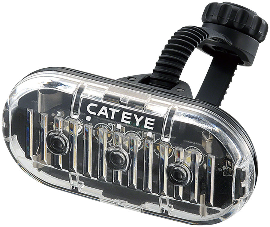 CatEye Omni3 LED Headlight: Black
