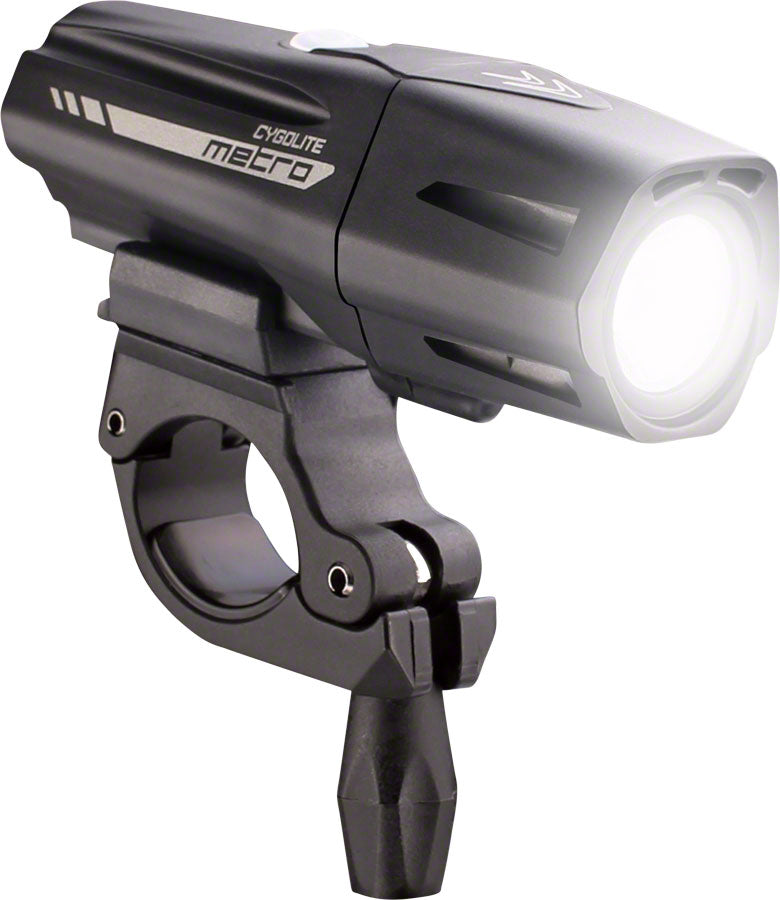 Cygolite Metro Plus 650 Rechargeable Headlight MPN: MTR-650-USB UPC: 745025075052 Headlight, Rechargeable Metro Plus