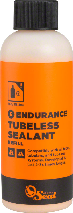 Orange Seal Endurance Tubeless Tire Sealant Refill - 4oz