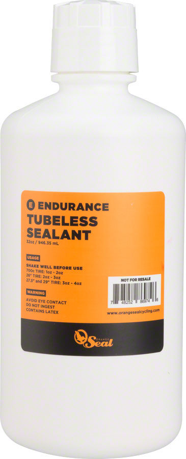 Orange Seal Endurance Tubeless Tire Sealant Refill - 32oz