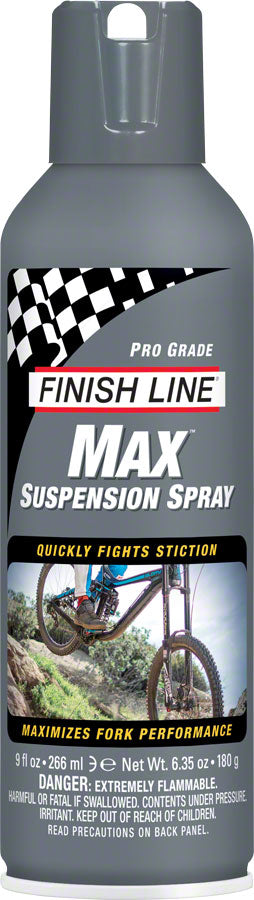 Finish Line Max Suspension Spray Lubricant, 9oz Aerosol