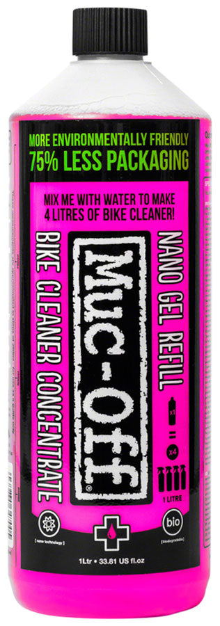 Muc-Off Nano Tech Gel Concentrate Cleaner: 1L Bottle