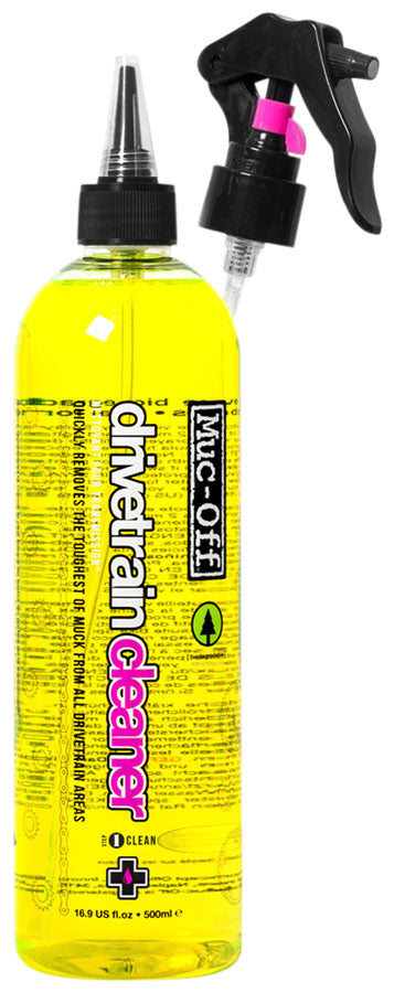 Muc-Off Drivetrain Cleaner: 500ml Pourable/Spray Bottle