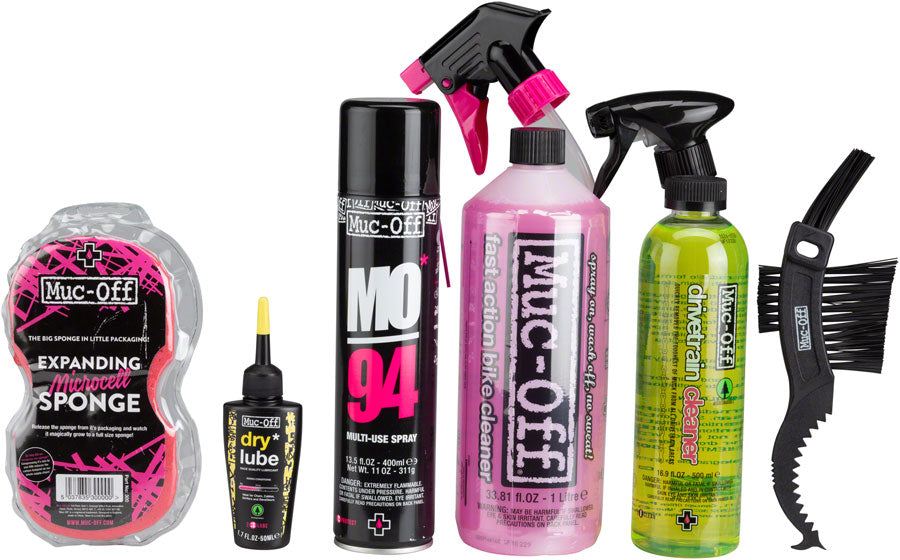 Muc-Off Bike Care Kit: Wash and Drivetrain Essentials