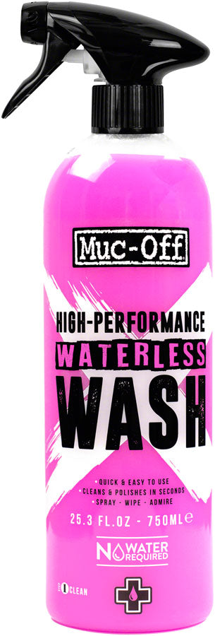 Muc-Off High Performance Waterless Wash 750ml MPN: 1132US Degreaser / Cleaner High Performance Waterless Wash