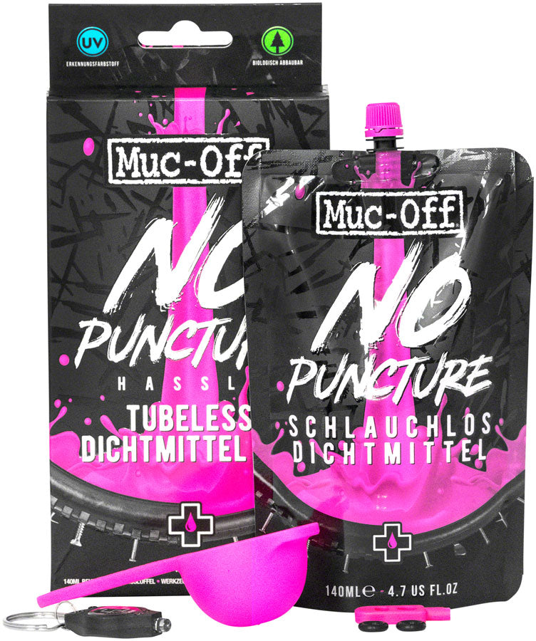 Muc-Off No Puncture Hassle Tubeless Tire Sealant - 140ml Kit