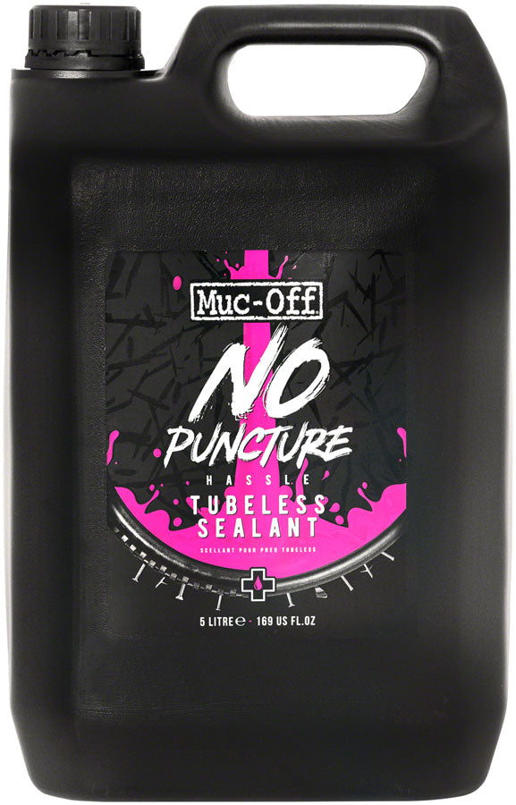 Muc-Off No Puncture Hassle Tubeless Tire Sealant - 5L Bottle