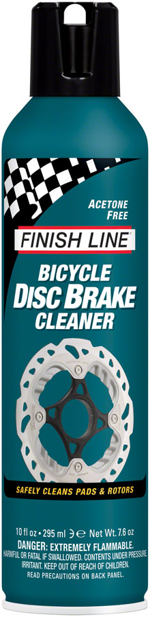 Finish Line Bicycle Disc Brake Cleaner, 10oz Aerosol
