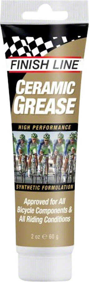 Finish Line Ceramic Grease, 2 oz Tube MPN: CG0020101 UPC: 036121600072 Grease Ceramic Grease
