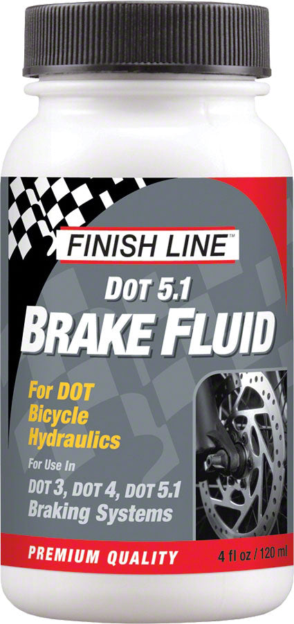 Finish Line DOT 5.1 Brake Fluid, 4oz