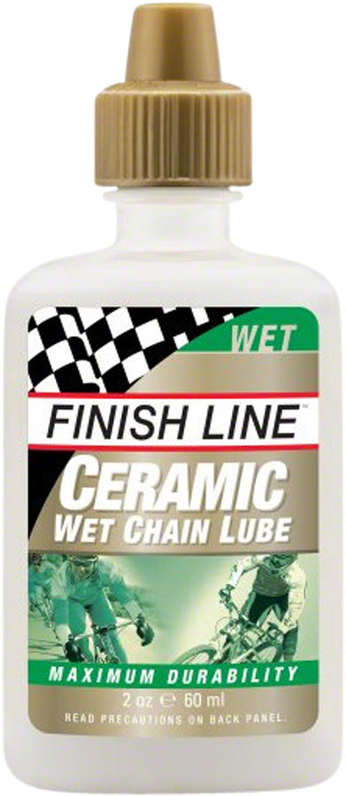 Finish Line Ceramic Wet Chain Lubricant, 2oz Drip MPN: CWE020101 UPC: 036121006041 Lubricant Ceramic Wet Lube