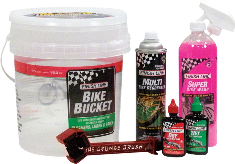 Finish Line Pro Care Bucket Kit 6.0 MPN: PC0060101 UPC: 036121400009 Cleaning Tool Pro Care Bucket Kit