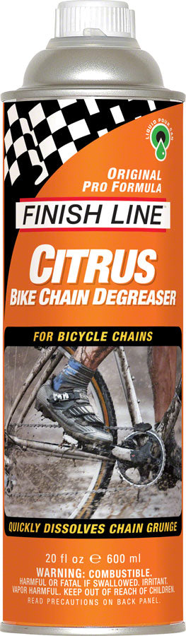 Finish Line Citrus Bike Degreaser, 20oz Pour Can MPN: C10200101 UPC: 036121183001 Degreaser / Cleaner Citrus Bike Degreaser