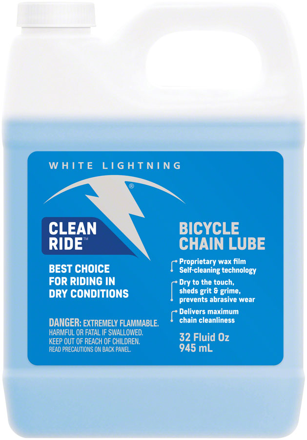 White Lightning Clean Ride Lube, 32oz Drip