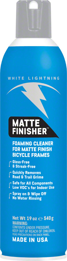 White Lightning Matte Finisher, 19oz Aerosol