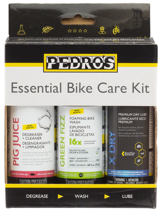 Pedros Essential Bike Care Kit II