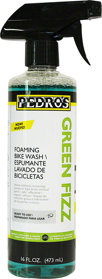 Pedro's Green Fizz Bike Wash Spray Bottle 16oz/475ml MPN: 6130161 UPC: 790983292140 Degreaser / Cleaner Green Fizz