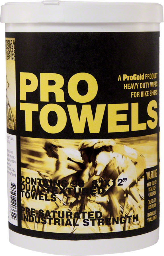 ProGold Pro Towels: 90 Pack MPN: 781590PP UPC: 711808208436 Degreaser / Cleaner Pro Towels