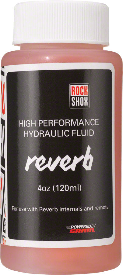RockShox Reverb Hydraulic Fluid, 120ml Bottle, Reverb/Sprint Remote