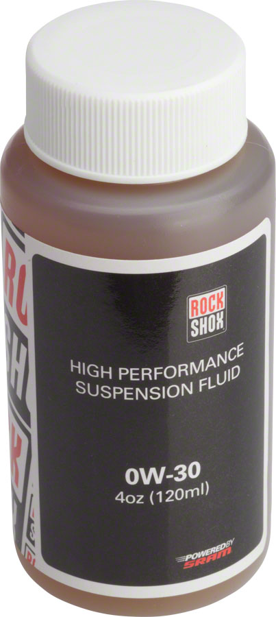 RockShox Suspension Oil, 0W-30, 120ml Bottle, Pike/Lyrik B1/Yari Lower Legs