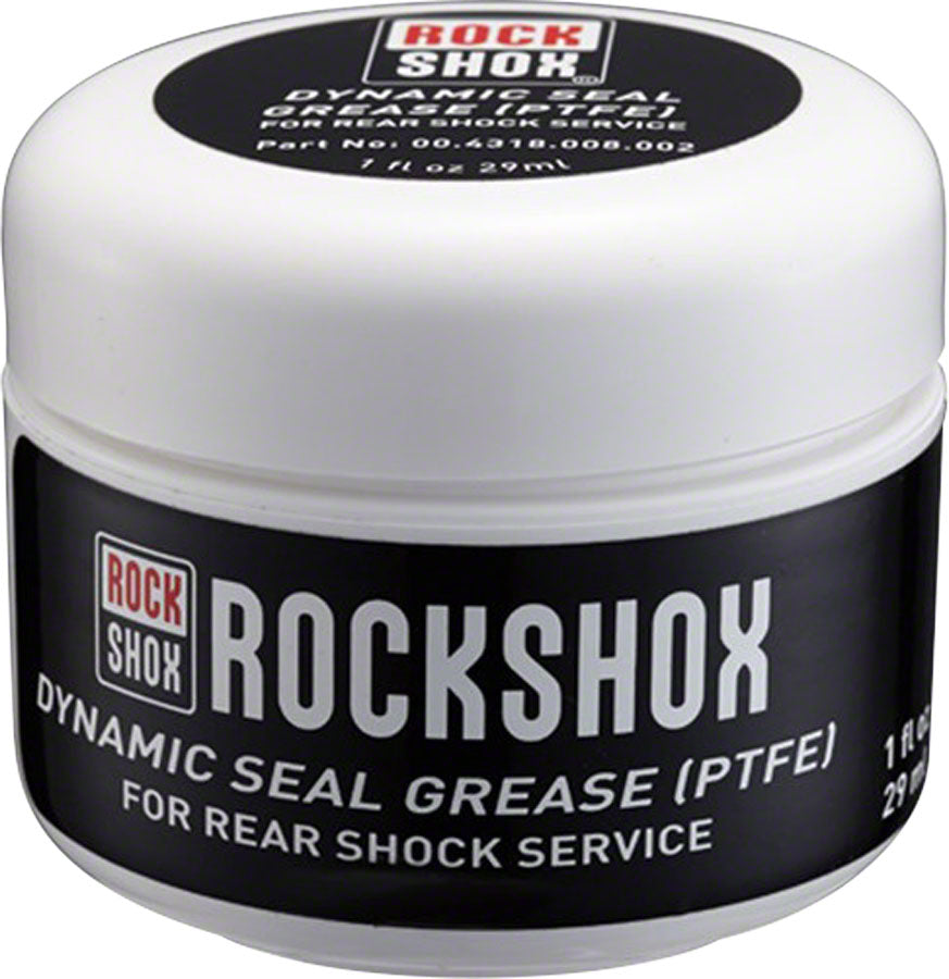 RockShox Dynamic Seal Grease - PTFE, 500ml MPN: 00.4318.008.004 UPC: 710845796241 Grease Dynamic Seal Grease