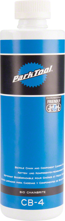 Park Tool CB-4 Bio Chain Brite, Chain Cleaner/Degreaser 16oz bottle