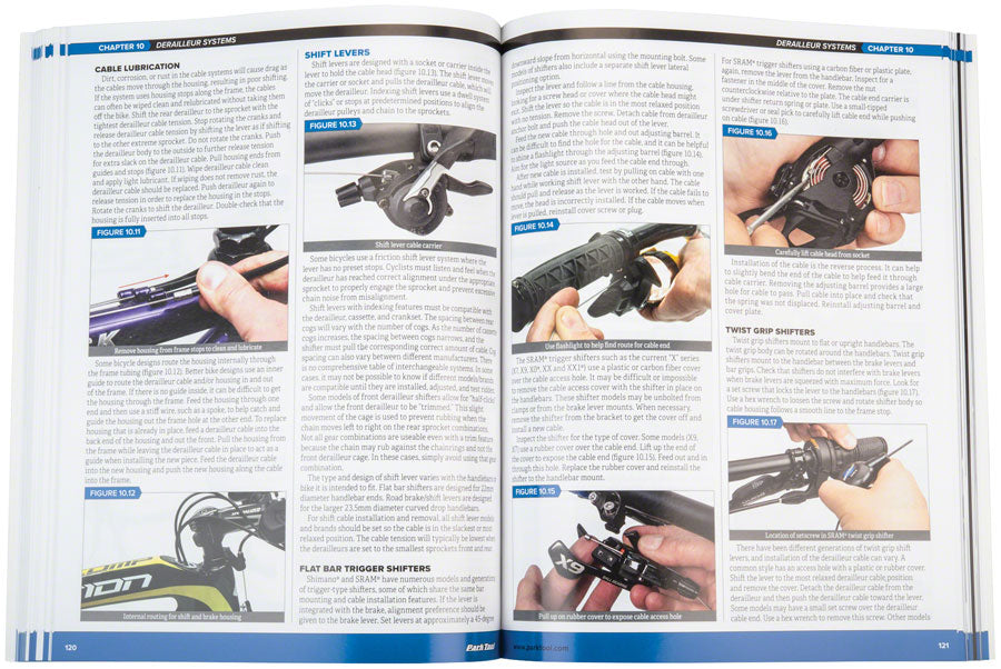 Park Tool BBB-4 Big Blue Book of Bike Repair 4th Edition - Bike Repair/Maintenance Guide - Park Tool Big Blue Book of Bike Repair
